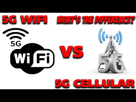 5G WIFI vs 5G Cellular, What's the Difference??