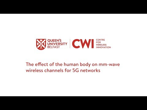 The effect of the human body on mm-wave wireless channels for 5G networks – Lei Zhang, CWI