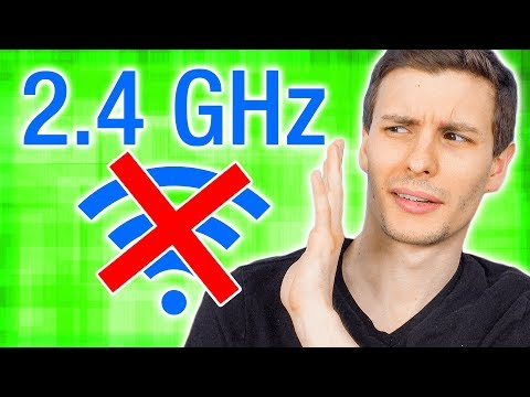 STOP USING 2.4 GHz WiFi ❗
