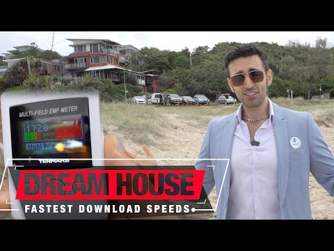The Fastest Download Speeds – Dream House Radiation Tour | Is 5G Safe?