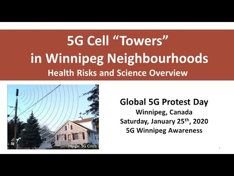 5G Wireless technology poses serious health risks