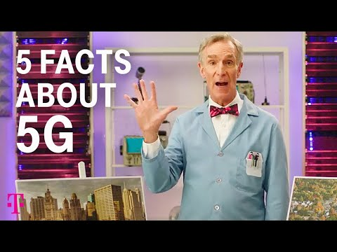 5 Facts about 5G Explained by Bill Nye!   T-Mobile