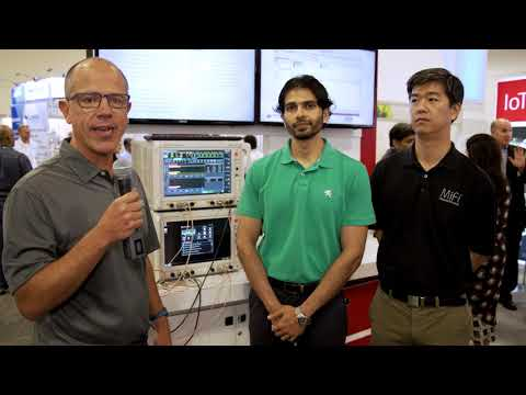Keysight Demos Technology for 5G, Wi-Fi, Network Emulation, Security and IoT