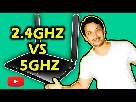 2.4ghz vs 5ghz wifi explained   Which one is better (Hindi)