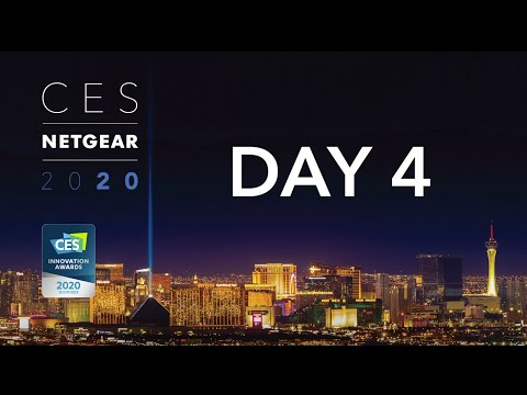 CES 2020 PREMIERE | Meet the Future of WiFi and 5G: Day 4