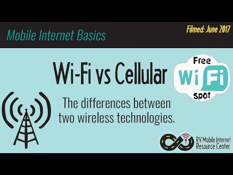 Mobile Internet Basics: What is the Difference Between Wi-Fi and Cellular?