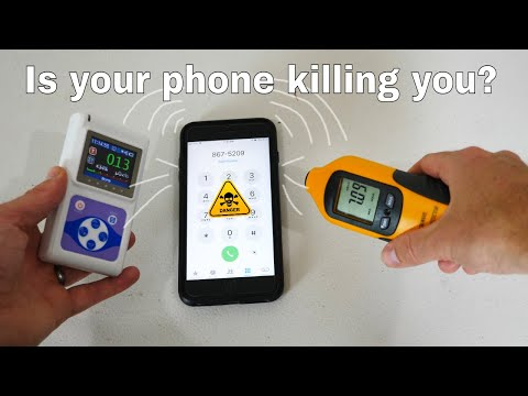 How Much Radiation Are You Getting From Your Phone?