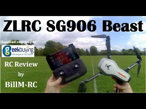 ZLRC SG906 Beast review – NEW Dual GPS 5G WiFi FPV Foldable RC Drone