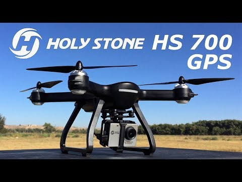 Holy Stone HS700 FPV Drone 1080p HD 5G WiFi Camera  GPS  RC Quadcopter