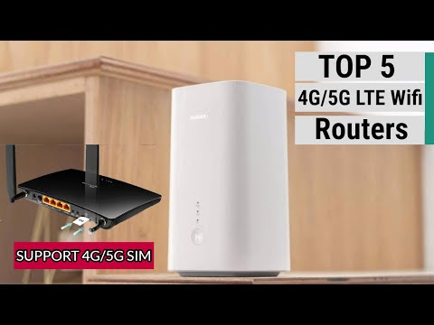 Top 5 Best 4G/5G LTE  WiFi Routers Of 2020
