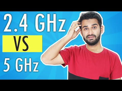 [HINDI] 2.4GHz vs 5GHz Wifi : Which band You Should Choose !