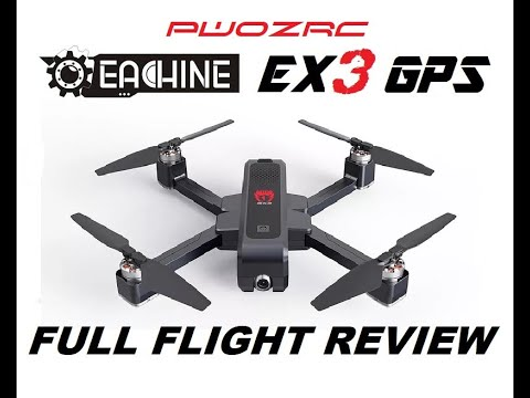EACHINE EX3 5G WiFi FPV 2K CAMERA GPS DRONE REVIEW