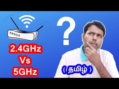 2.4GHz Vs 5GHz ||Which One Is Suitable For Your Home Internet Explained In Tamil 🔍🔍🔍💡💡💡