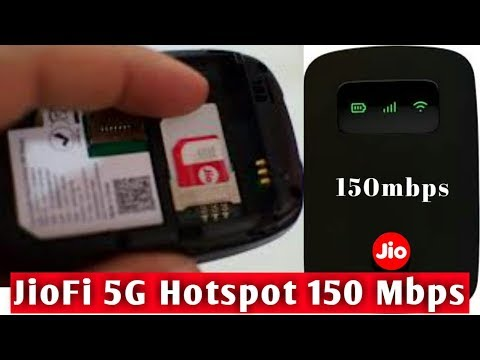 JioFi 5G Hotspot150 Mbps || Jio 5G WiFi Data Device