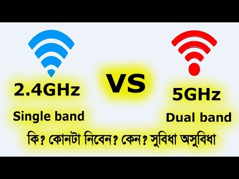 2.4GHz vs 5GHz | Single band dual band in wifi router | Speed Range Frequency  Channel | BTube718