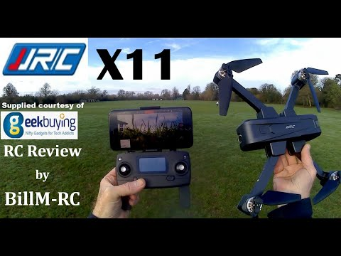 JJRC X11 review – 2K 5G WIFI FPV GPS Brushless Foldable Quadcopter Drone.