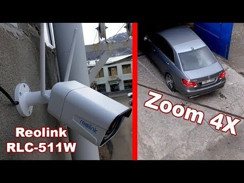 Reolink RLC-511W WiFi Security IP Camera 2.4G/5G 5MP 4x Optical Zoom SD Card Night Vision / Review
