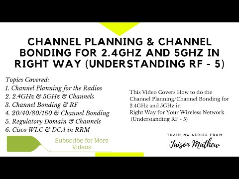 Channel Planning & Channel Bonding for 2.4GHz and 5GHz in Right Way Wireless (Understanding RF – 5)