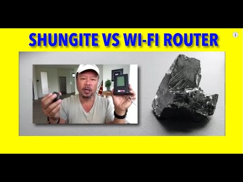 #Shungite vs #5G Wifi Router