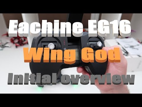 EACHINE EG16 WING GOD 4K 5G WIFI DRONE INITIAL OVERVIEW