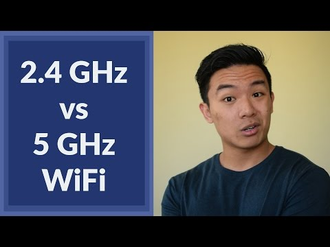 2.4GHz vs 5GHz WiFi