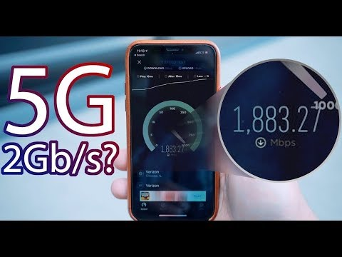 Fastest 5g vs fastest wifi speed test