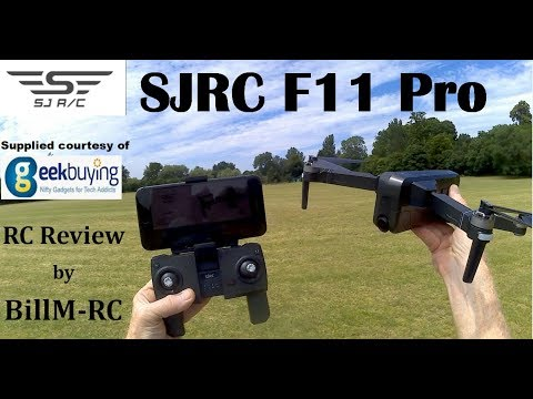 SJRC F11 PRO review – 2.7K GPS 5G WIFI FPV Long flight time Foldable RC Drone