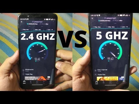 What Is 2.4 GHZ And 5 GHZ Band | Speed Test | Full Detail