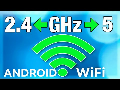 How To Set Android Wi-Fi Setting from 2.4 GHz to 5 GHz