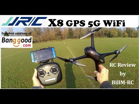 JJRC X8 Review – GPS 5G WiFi FPV 1080p Brushless Quadcopter drone