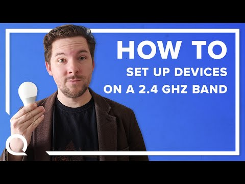 How to Set Up a Smart Home Device on a 2.4 GHz Network