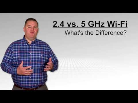 What's the difference between 2.4 GHz & 5 GHz Wi-Fi?