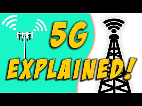 How 5G works? | 5G explained | What is 5G Technology in hindi?