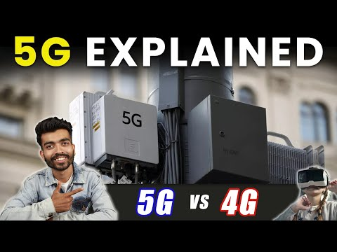 What is 5G explained in Hindi | 5G vs 4G speed | Who owns 5G? Everything about 5G you should know