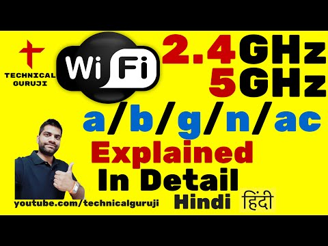 [Hindi/Urdu] WiFi Explained in Detail | Wifi 802.11 a, b, g, n, ac