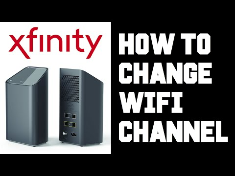Xfinity How To Change Wifi Channel – How To Change Wifi Router Channel Instructions, Guide