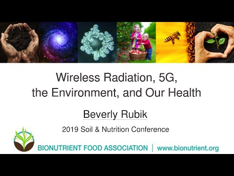 Beverly Rubik: Wireless Radiation, 5G, the Environment, and Our Health