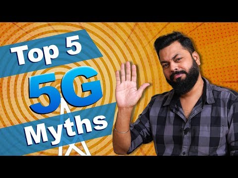 5 BIGGEST 5G MYTHS BUSTED ⚡⚡⚡ 5G Radiation, 5G vs 4G, 5G In India & More