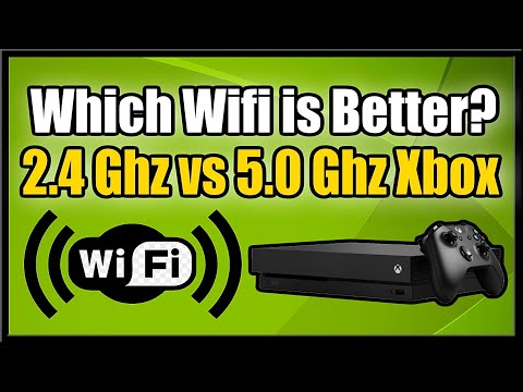 Which is Better & Faster 2.4Ghz vs 5.0Ghz Wifi on Xbox One (Gaming Tutorial)
