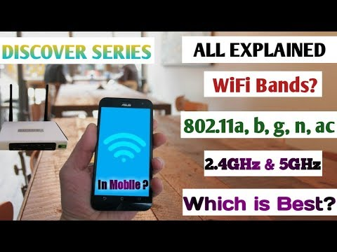 Wifi 802.11a, b, g, n, ac? All Explained | 2.4GHz and 5 GHz difference | Which is best?