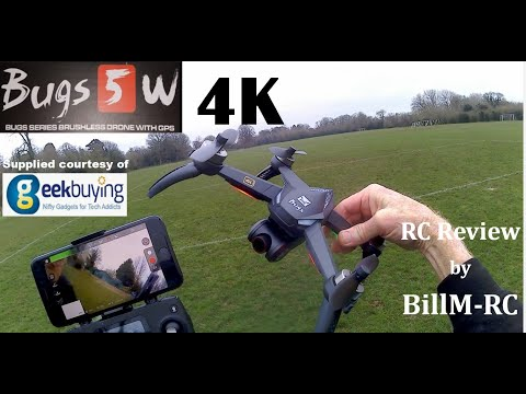 MJX Bugs 5W 4K Version Full review – 5G WIFI FPV GPS Quadcopter Drone