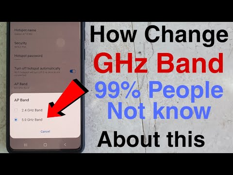 How Change Network Band 2.4 to 5 || its 100% Working Trick || Every Samsung Or Any Smartphone