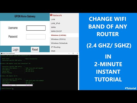 Change Wifi Band of any router (2.4Ghz/5Ghz) | 2-minute instant Tutorial
